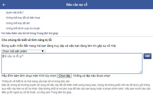 cách mở chặn like share facebook